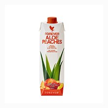 Forever Aloe Bits n' Peaches - Χυμός Αλόης με Ροδάκινο της Forever Living Products Ελλάς - Κύπρος
