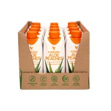 Μίνι Χυμός Αλόης Βέρα με Ροδάκινο - Forever Aloe Bits n' Peaches Mini της Forever Living Products Ελλάς - Κύπρος | 12 Τεμαχία