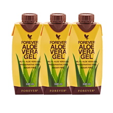 Mini Aloe Vera Gel - Μίνι Χυμός Αλόης Βέρα της Forever Living Products Ελλάς - Κύπρος | 3 Τεμαχία