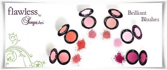 Brilliant Blushes - Αστραφτερά Ρουζ | Flawless by Sonya της Forever Living Products Ελλάς - Κύπρος