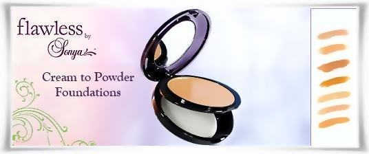 Cream to Powder Foundations - Βάσεις Μέικαπ Κρέμα Σε Πούδρα | Flawless by Sonya της Forever Living Products Ελλάς - Κύπρος