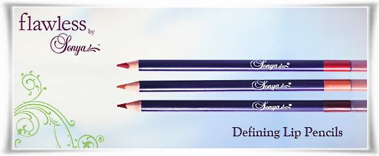 Defining Lip Pencils | Flawless by Sonya της Forever Living Products Ελλάς - Κύπρος