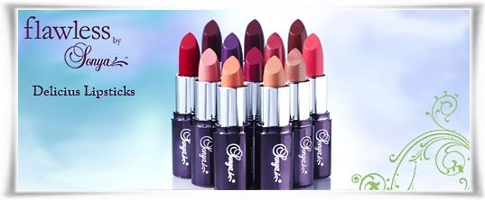 Delicious Lipsticks - Κραγιόν | Flawless by Sonya της Forever Living Products Ελλάς - Κύπρος