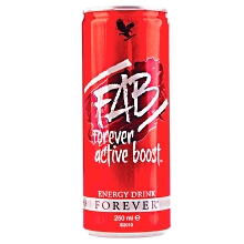 FAB Forever Active Boost | Φυσικό Ενεργειακό Ποτό της Forever Living Products