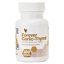 Forever Garlic-Thyme | Σκόρδο & Θυμάρι της Forever Living Products