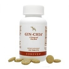 Τζίνσενγκ & Χρυσή Τσία | Forever Gin-Chia της Forever Living Products