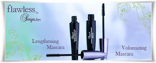 Lengthening - Volumizing Mascaras | Μάσκαρα για Όγκο - Επιμήκυνση | Flawless by Sonya της Forever Living Products Ελλάς - Κύπρος