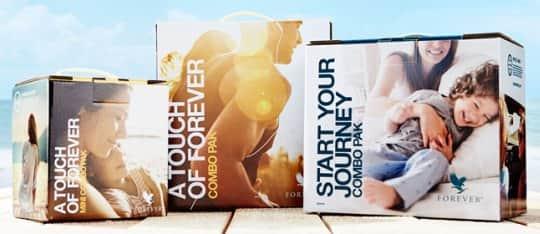 Πακέτα Συλλογής Προϊόντων Αλόης Βέρα της Forever Living Products Ελλάς - Κύπρος